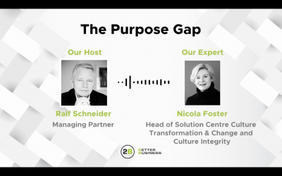 The purpose gap