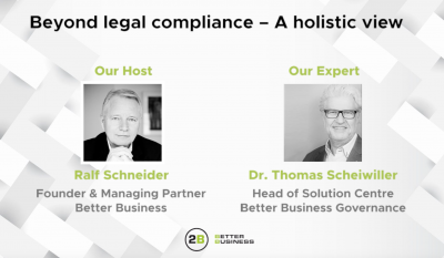 Beyond legal compliance – A holistic view